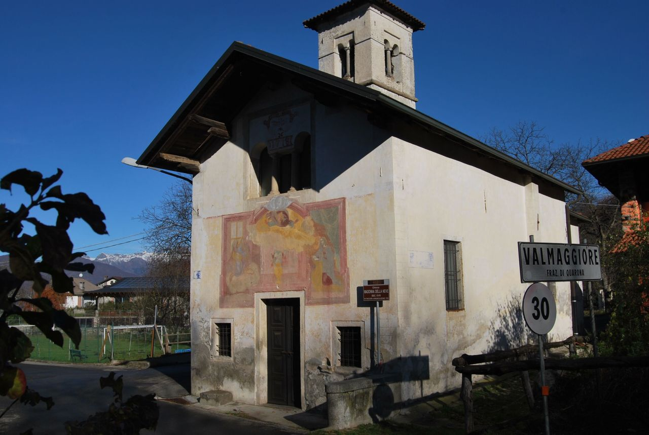 chiesa Madonna delle nevi Valmaggiore