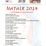 messe di natale 2014